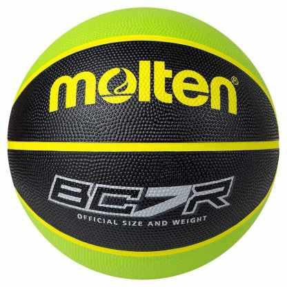 Molten BCR2 Series Basketball - Size 7 - Green/Black