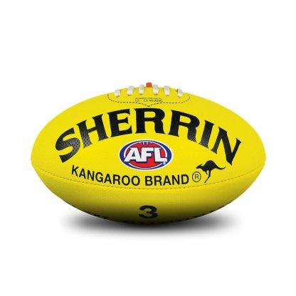 Sherrin KB All Surface Yellow Football - Size 3 Hero