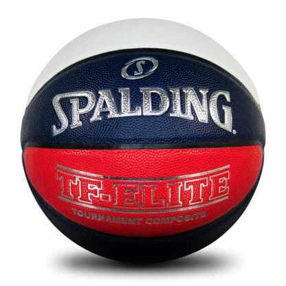 Spalding TF-ELITE Official VJBL Game Ball Back