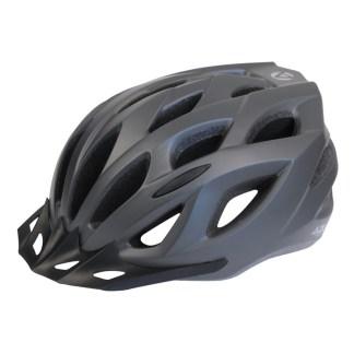 Azur L61 Bike Helmet | Gloss Titanium