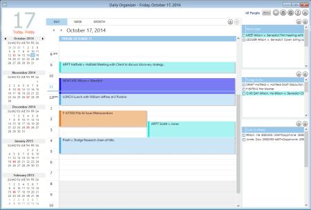 AbacusLaw 2015 Calendar - Daily Organizer