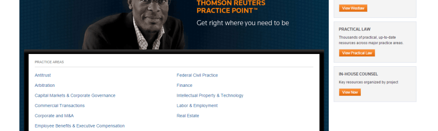 'Practice Point' from Thomson Reuters Serves Up the Best of Westlaw and Practical Law