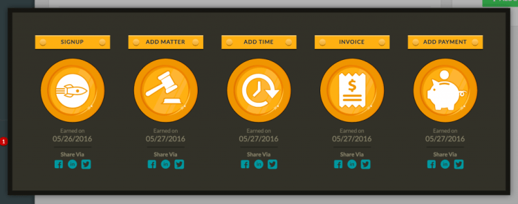 gamification badges for onboarding