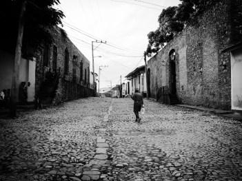 Street scene in Trinidad.