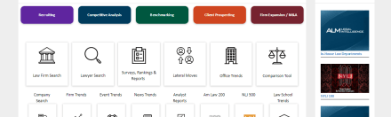 ALM's New Legal Compass Provides In-Depth Data on Law Firms, Lawyers and Companies