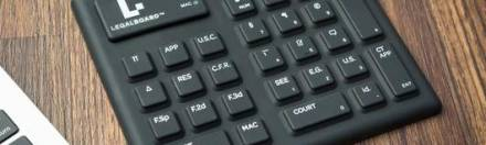 Remember the Legal Keyboard? Now There's A Mini Version for Travel