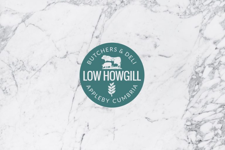 Low Howgill Butcher Brand Logo Design