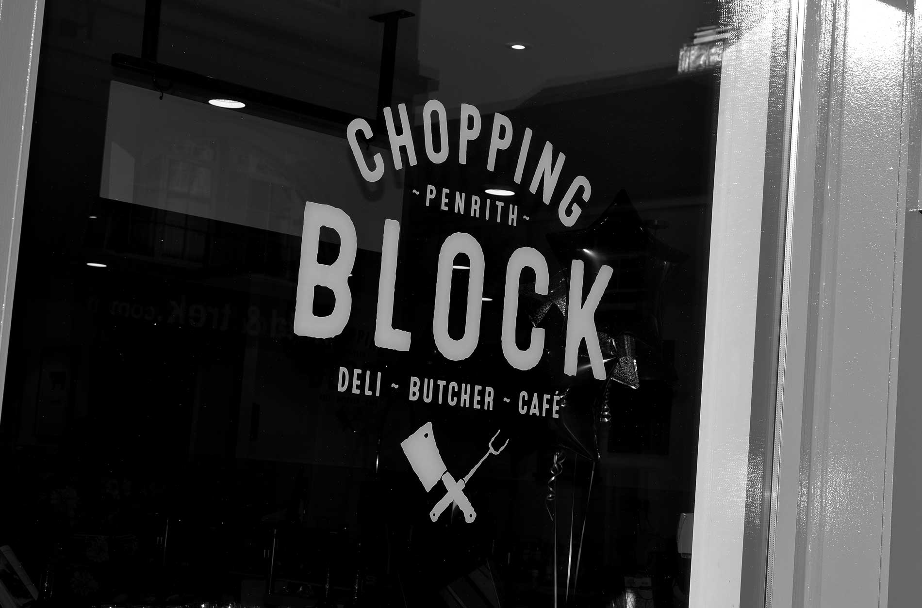 The Chopping Block Butcher & Deli Logo Design, Penrith