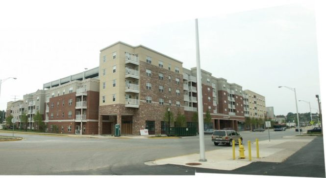 Wabash Landings Apartments Mixed Use