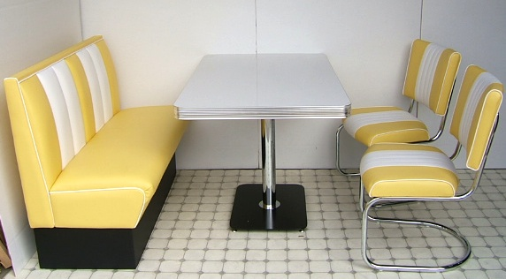 Yellow Chair And Half