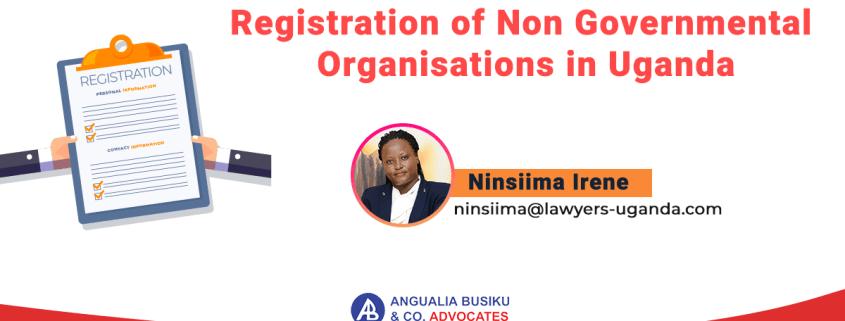 Registration of Non Governmental Organisations in Uganda