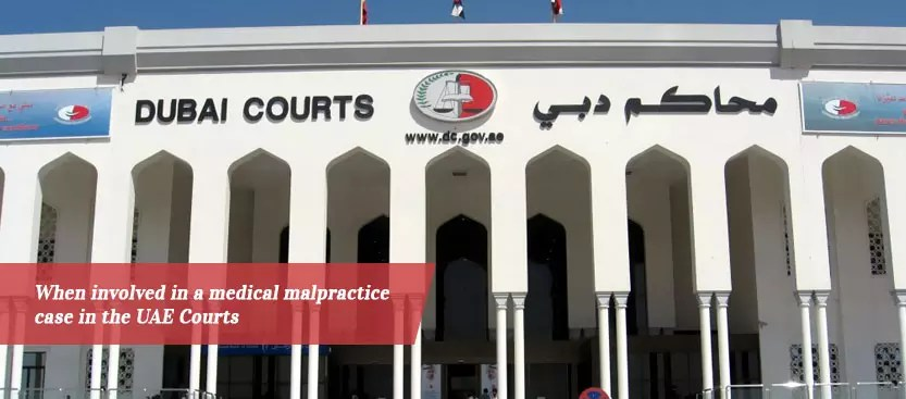 Turning To The UAE Courts For Your Medical Malpractice Case