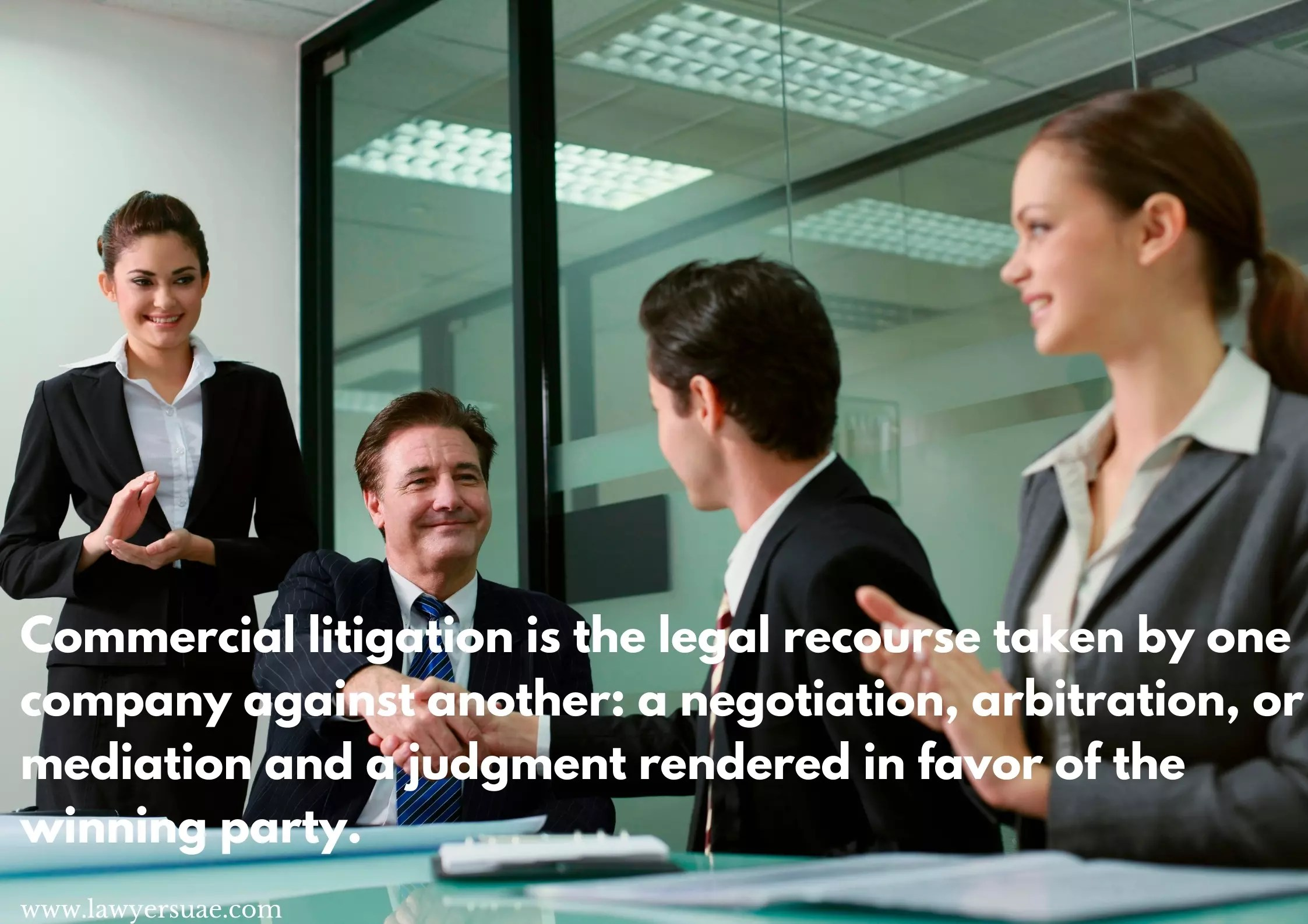 Top 6 ways to settle a commercial litigation