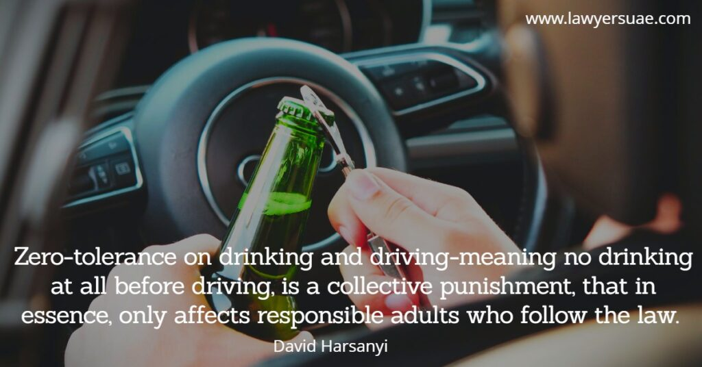 Drinking and Driving Laws in Dubai