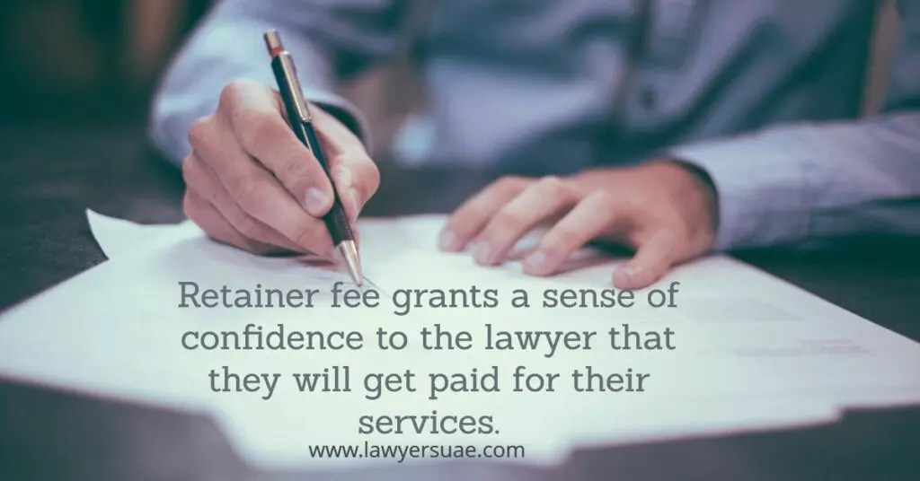 UAE Lawyer Retainer Fees