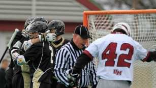 lacrosse official after goal