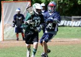 youth lacrosse up field down field