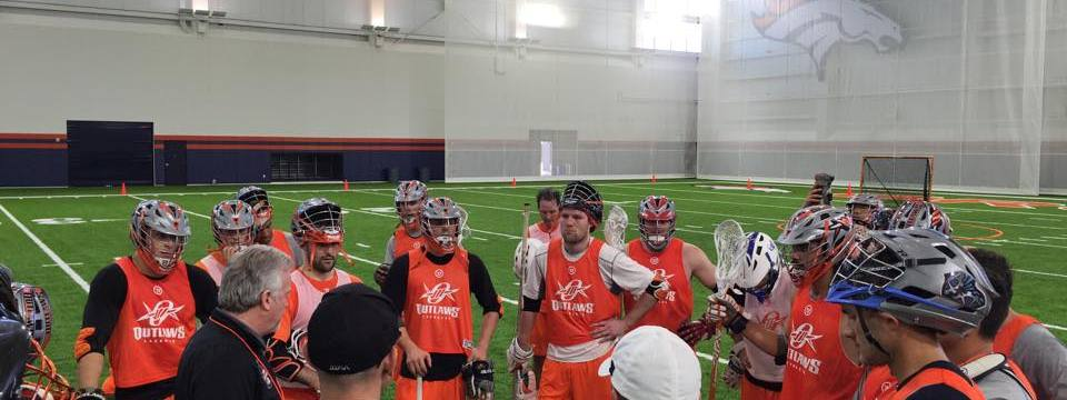 denver outlaws professional MLL lacrosse training camp