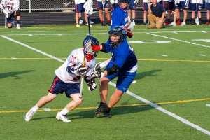 Defender Lunging against Midfielder Dodging