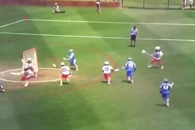 hopkins hidden ball trick man up play virginia 2015