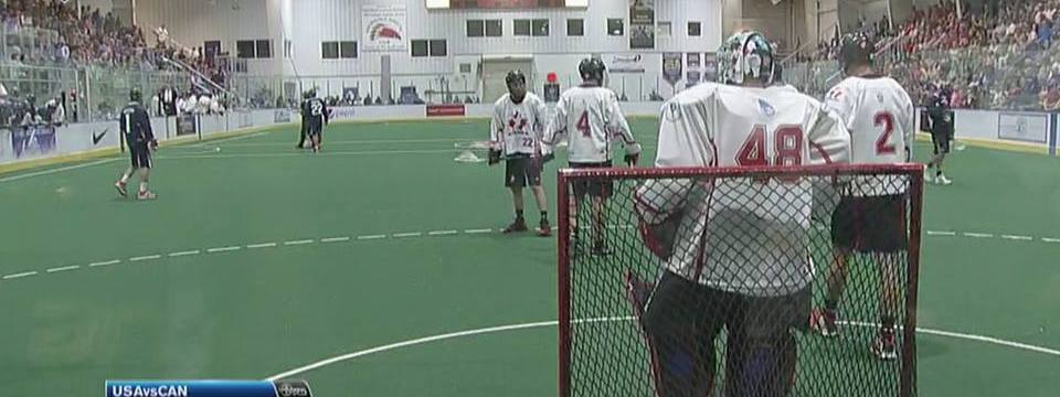 Canada vs USA world indoor lacrosse championships 2015