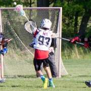 simple man up box field lacrosse play 3 on 2 up top