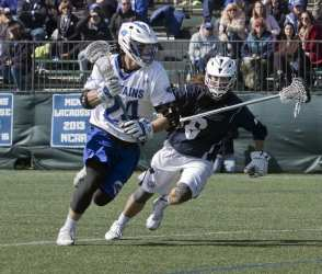 college lacrosse    sweep dodge play lacrosse library