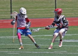 lax lingo bounce off defense pass shoot