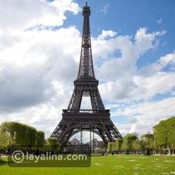 شهر العسل في باريس - برج إيفل