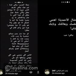 رد صارم من زينب ابنة هيفاء وهبي على إقحامها في الخلاف المعلن