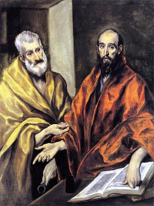 St Peter and St Paul by El Greco