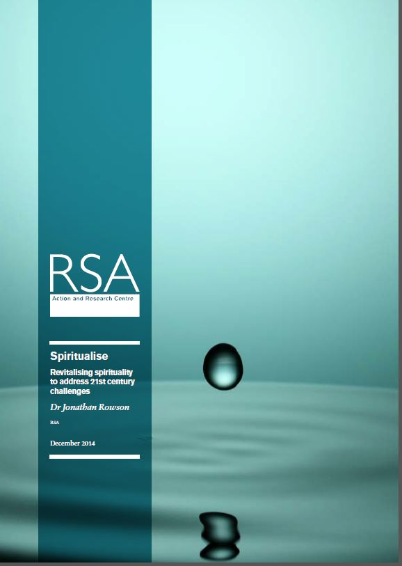RSA 'Spiritualise' report on Pdf