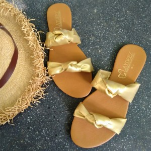 Laydeez Double Knotted Slides