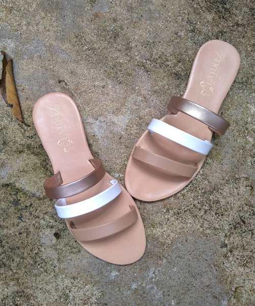 Laydeez Teeny Slides in Nude