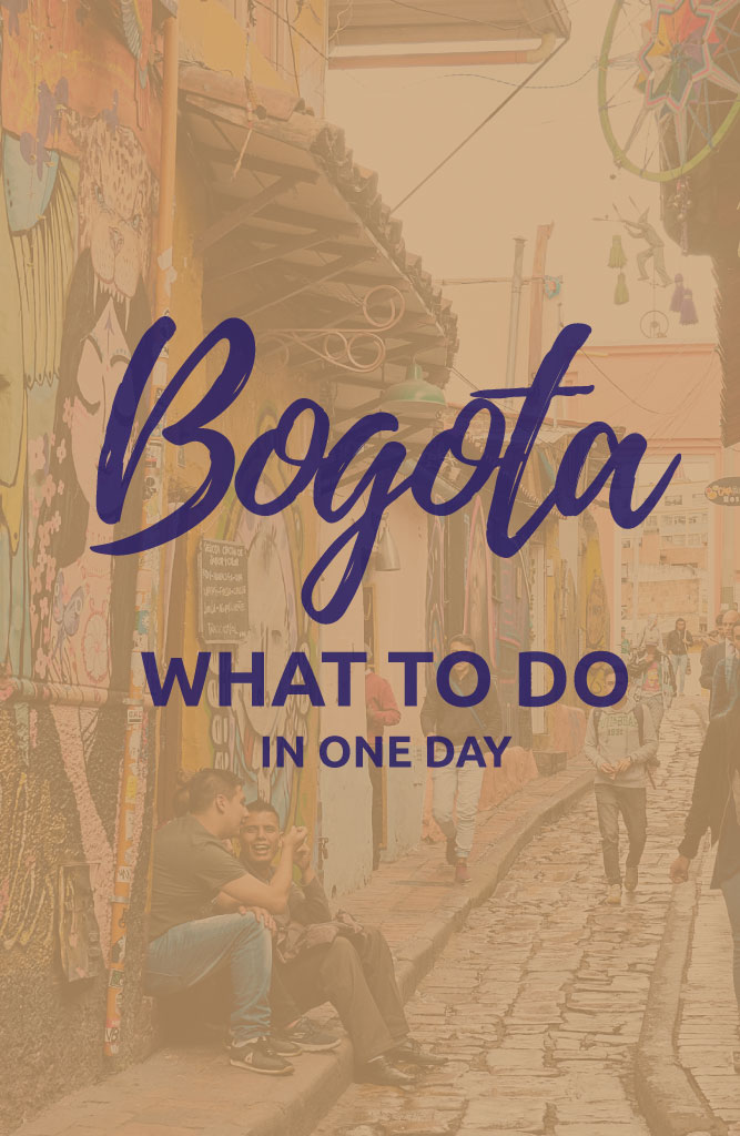 what to do in bogota for one day