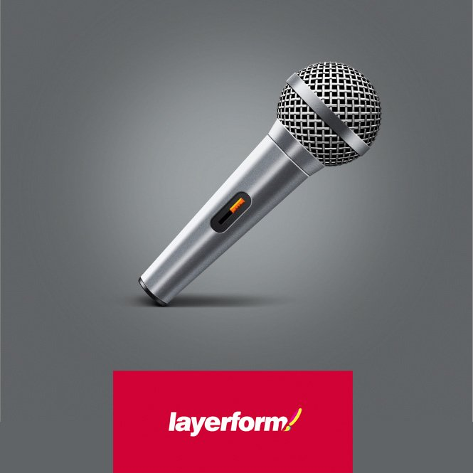 Create A Microphone In Adobe Photoshop Illustrator Layerform