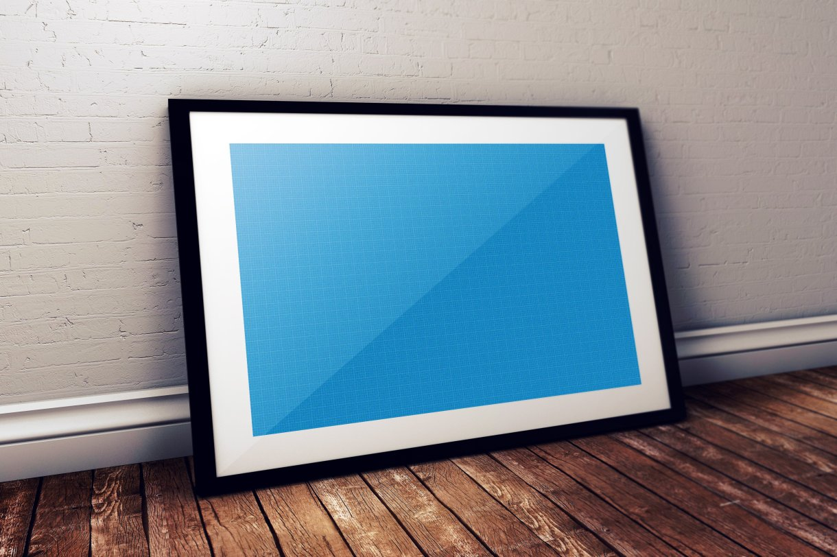 Photo Frame Photoshop PSD Mockup