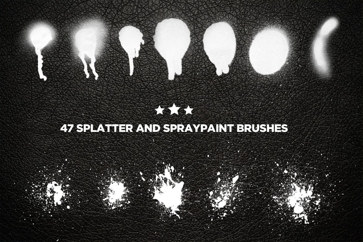 31 Sets of Free Photoshop Paint Brushes - UCreative.com
