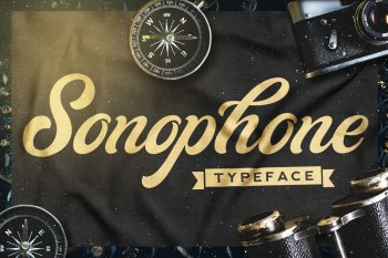 Sonophone Script - Typeface by Layerform Design Co