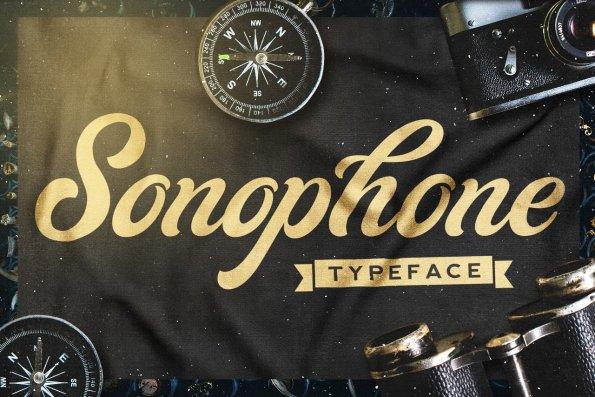 Sonophone Script - Typeface by Layerform Design Co