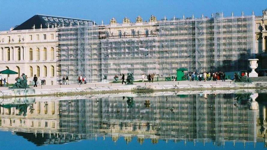 Versailles Castle facelift