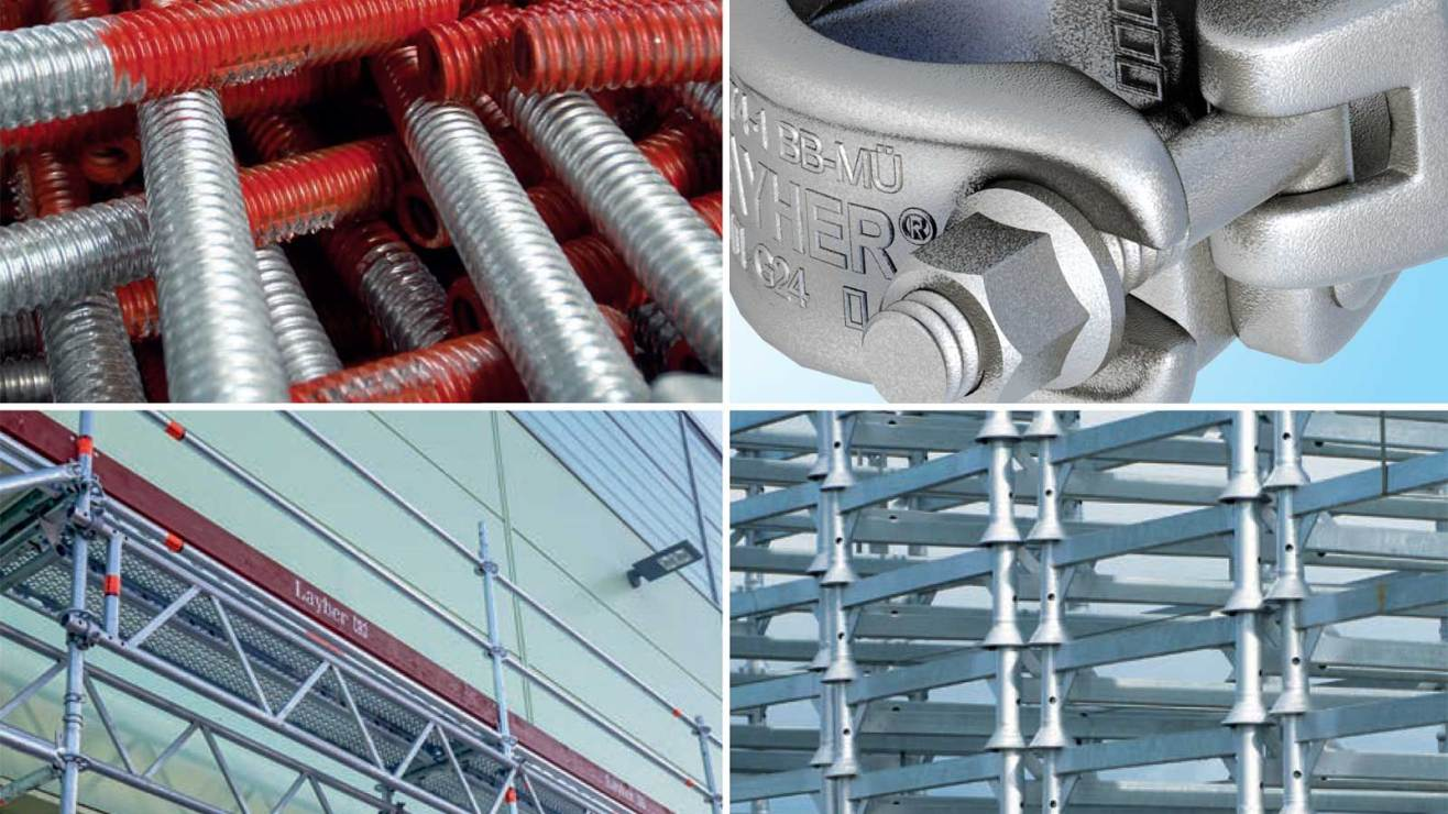 Accessories for all types of scaffolding