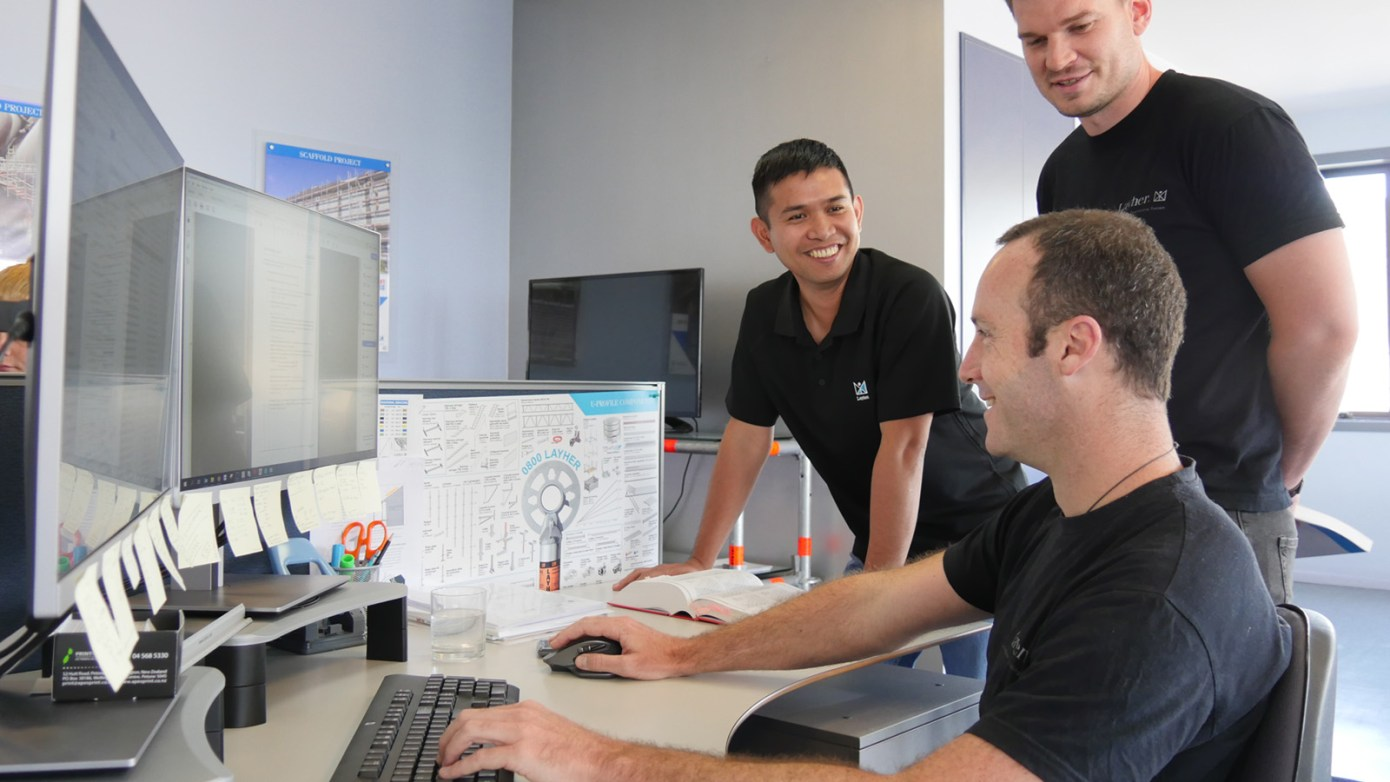 Layher technical design support
