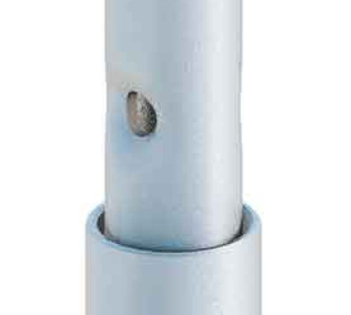 Spigot with half-coupler