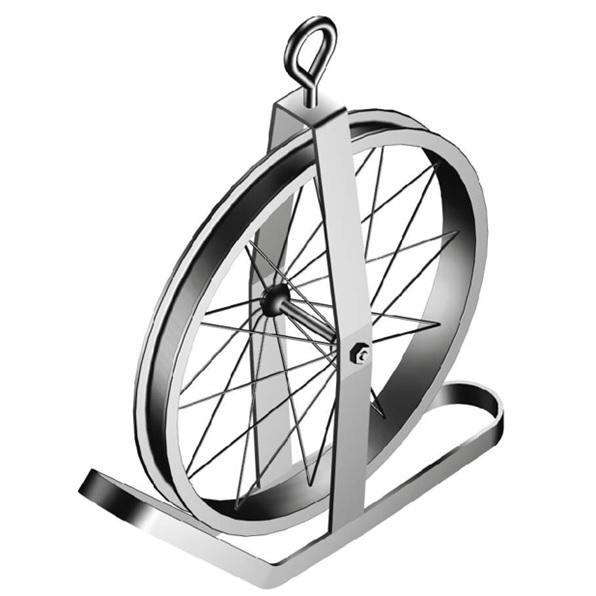 Gin wheel rope hoist