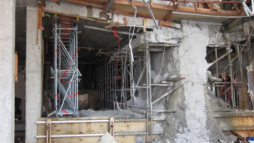 200tonne earthquake strengthening scaffold