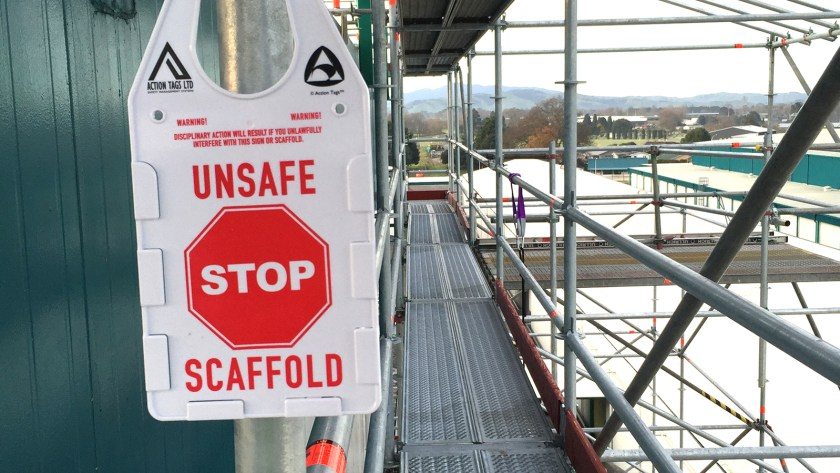 Scaffold tags for all types of scaffolding