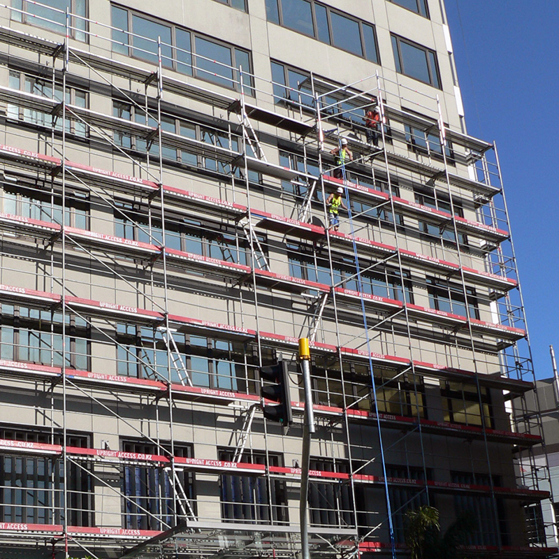 Advance Guardrail System is a really effective way of preventing scaffolders from falling