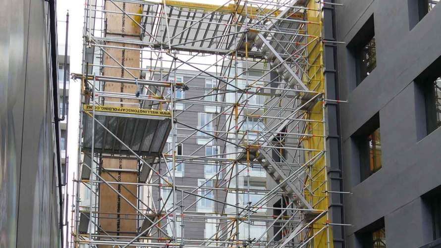 Museum Hotel Refurb Access by Wellington Scaffolding Services