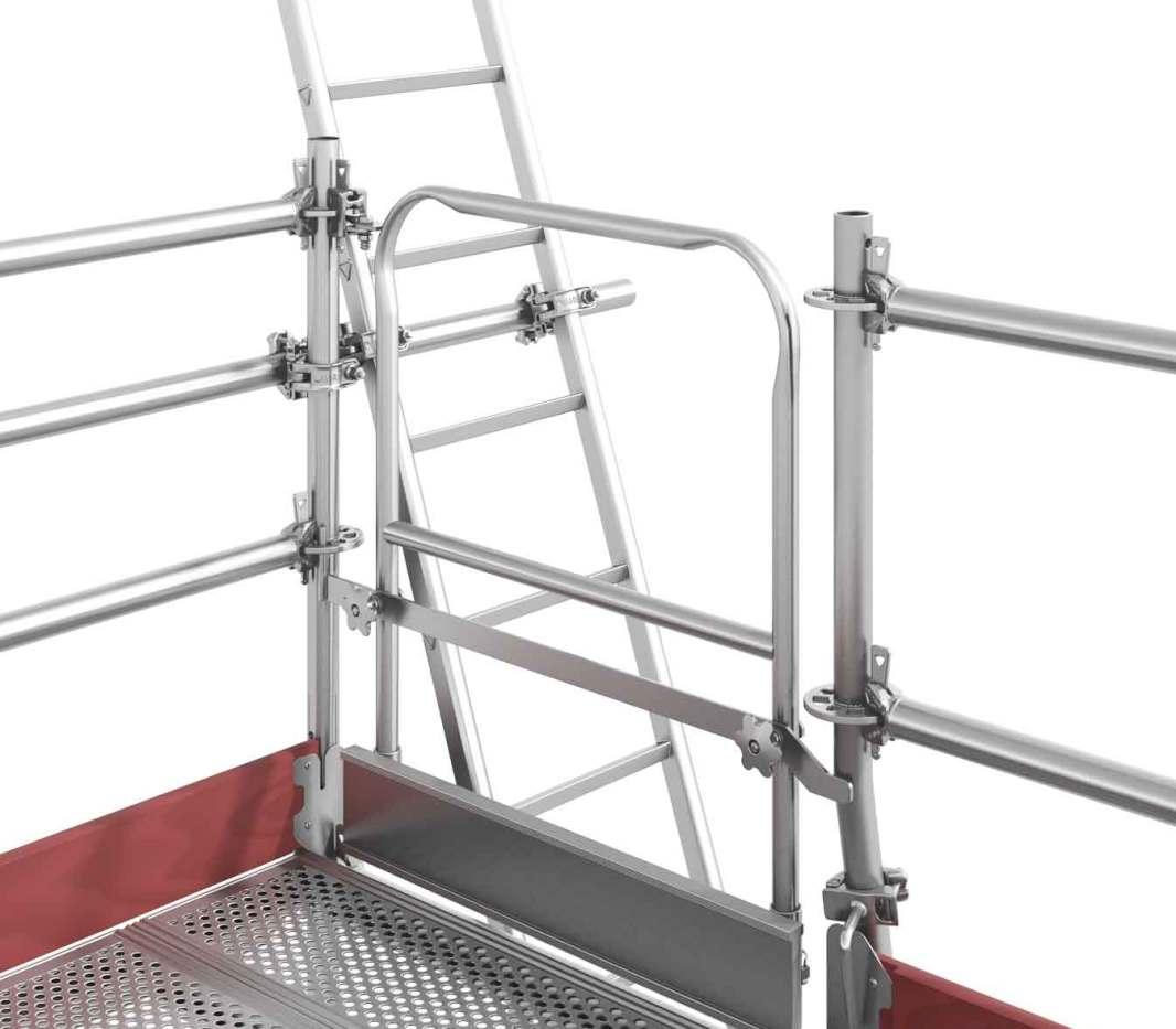Layher scaffolding ladders